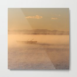 Mist on Lake Titicaca Metal Print