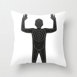 Prime target Throw Pillow