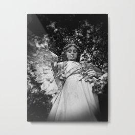 Rose Angel Metal Print