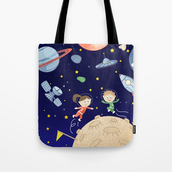 Space kids astronauts planets asteroids and spaceships by badenglishcat