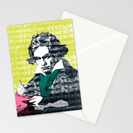 Ludwig van Beethoven 9 Stationery Cards