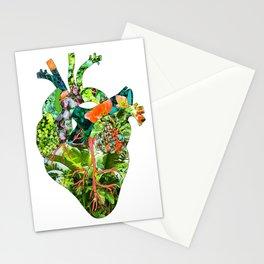 Botanical Heart Stationery Cards