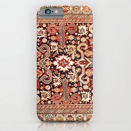 Perepedil Kuba East Caucasus Rug Print iPhone Case