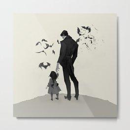 Father Daughter Time Metal Print
