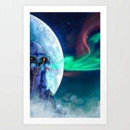 The Lightkeeper Art Print