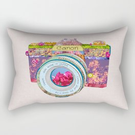 FLORAL CAN0N Rectangular Pillow