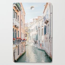 Venice Morning - Italy Travel Photography Cutting Board
