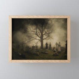 Unsettling Fog Framed Mini Art Print