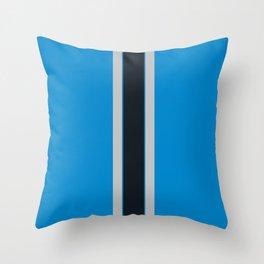 Carolina blue Throw Pillow