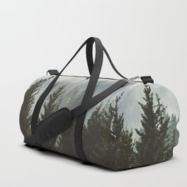 Forest Fog Mountain IV - Wanderlust Nature Photography Duffle Bag