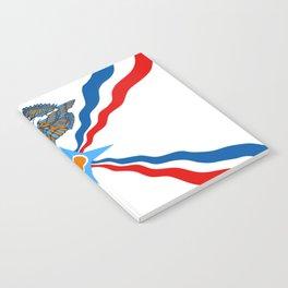 Assyrian Flag Notebook