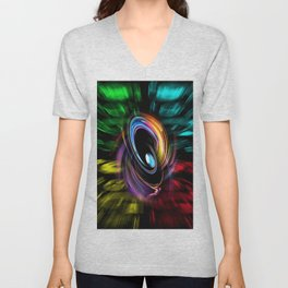 Abstract perfection 46 Unisex V-Neck