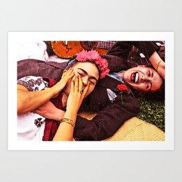 Frida y Chavela Kunstdrucke