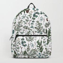 Pine and Eucalyptus Greenery Backpack