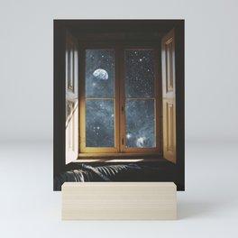 WINDOW TO THE UNIVERSE Mini Art Print