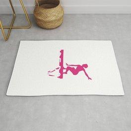 Gymnast If it Was Easy More Boys Would Do It Gymnastics Rug