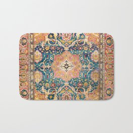 Amritsar Punjab North Indian Rug Print Bath Mat