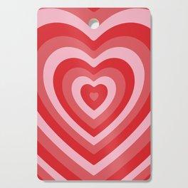 Hypnotic Hearts Cutting Board