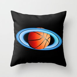 Spacejam Throw Pillow
