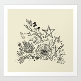 Magic Altar Art Print