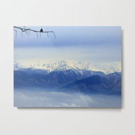Beautiful Alps Metal Print