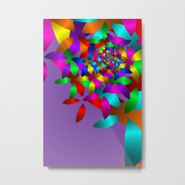 pattern and color -51- Metal Print