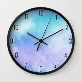 Dreamy Sky Wall Clock