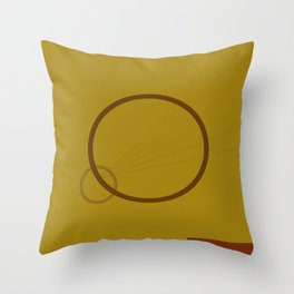 Barefoot Infant Throw Pillow