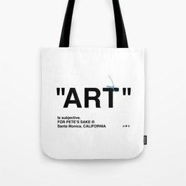 """""""ART"""" Tote Bag"""