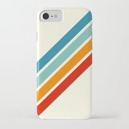 Alator - Classic 70s Retro Summer Stripes iPhone Case