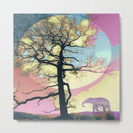 Colorful World Metal Print