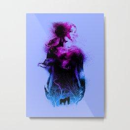 Forest queen Metal Print