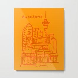 Auckland New Zealand Metal Print