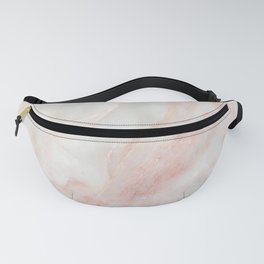 Softest blush pink marble Fanny Pack