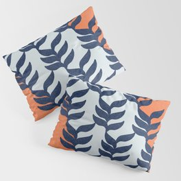 Colorful design with plants Pillow Sham
