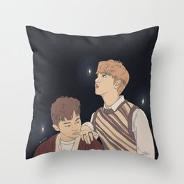 markhyuck lost in time Throw Pillow