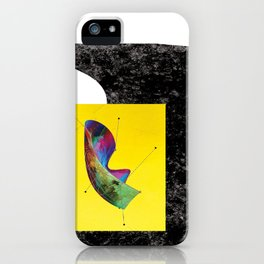 my laundry is getting wet in the rain (again) iPhone Case