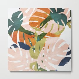 Monstera delight Metal Print