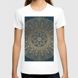 Gold Mandala 16 T-shirt