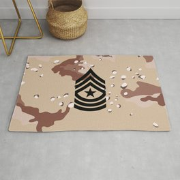 Sergeant Major (Desert Camo) Rug