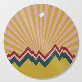 Karma Mountains Cutting Board