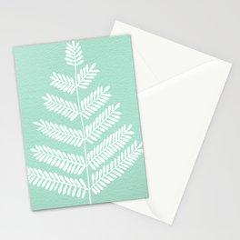 Mint Leaflets Stationery Cards