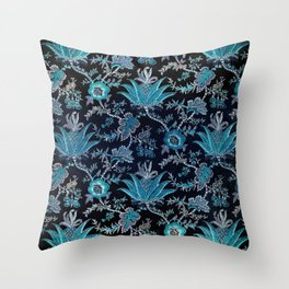 Floral Fabric Vintage Gift Pattern #8 Throw Pillow