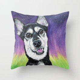 Cosmic Kya Throw Pillow