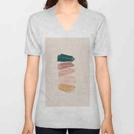 Make Time For What Helps You Unisex V-Neck