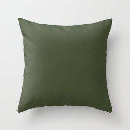 Cedar Creek ~ Moss Green Throw Pillow
