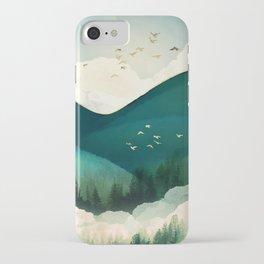 Emerald Hills iPhone Case