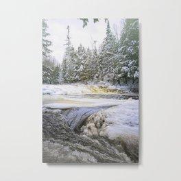Ocqueoc Winter Metal Print