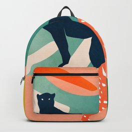 tropical cats Backpack
