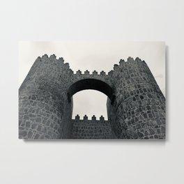 Castle Walls Metal Print